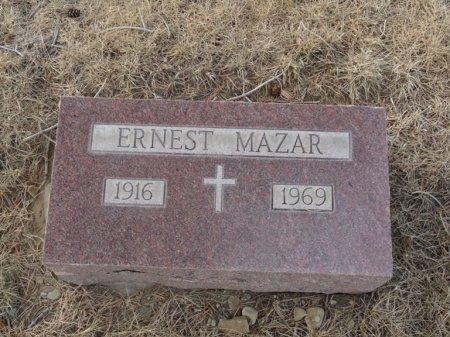 MAZAR, ERNEST - Colfax County, New Mexico | ERNEST MAZAR - New Mexico Gravestone Photos