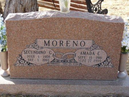MORENO, AMADA C - Colfax County, New Mexico | AMADA C MORENO - New Mexico Gravestone Photos