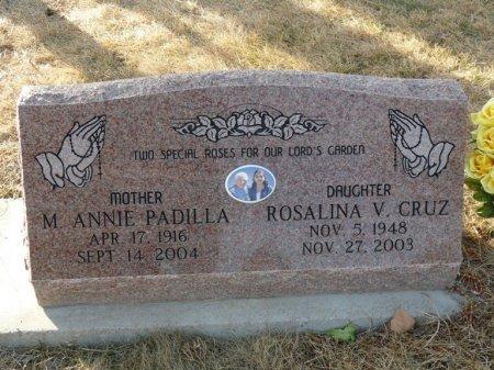 CRUZ, ROSALINA V - Colfax County, New Mexico | ROSALINA V CRUZ - New Mexico Gravestone Photos