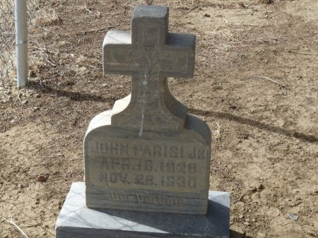 PARISI, JR, JOHN - Colfax County, New Mexico | JOHN PARISI, JR - New Mexico Gravestone Photos