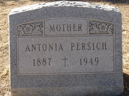 PERSICH, ANTONIA - Colfax County, New Mexico | ANTONIA PERSICH - New Mexico Gravestone Photos