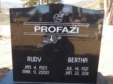 PROFAZI, BERTHA - Colfax County, New Mexico | BERTHA PROFAZI - New Mexico Gravestone Photos