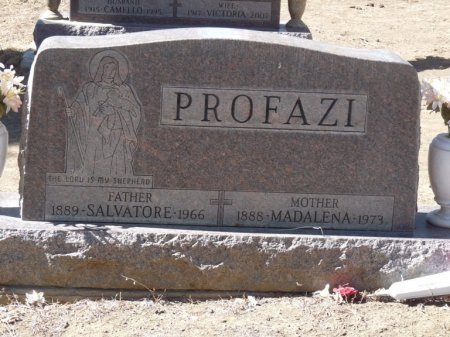 "PROFAZI, MADALENA GIUSEPPA ""NELLI"" - Colfax County, New Mexico | MADALENA GIUSEPPA ""NELLI"" PROFAZI - New Mexico Gravestone Photos"
