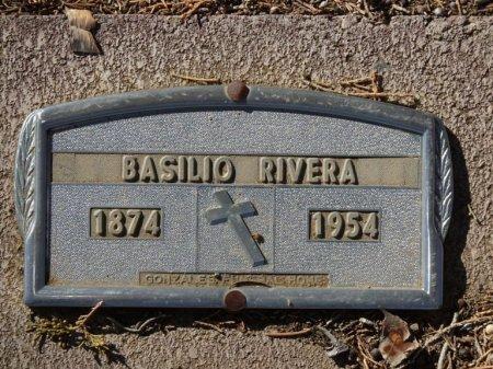 RIVERA, BASILIO - Colfax County, New Mexico | BASILIO RIVERA - New Mexico Gravestone Photos