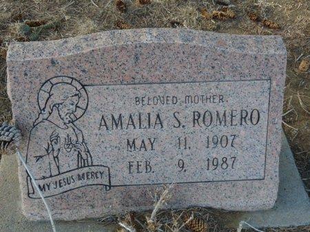 ROMERO, AMALIA - Colfax County, New Mexico | AMALIA ROMERO - New Mexico Gravestone Photos