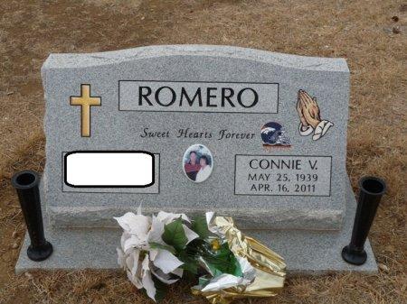 ROMERO, CONNIE V - Colfax County, New Mexico   CONNIE V ROMERO - New Mexico Gravestone Photos