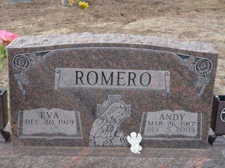 ROMERO, EVA - Colfax County, New Mexico | EVA ROMERO - New Mexico Gravestone Photos