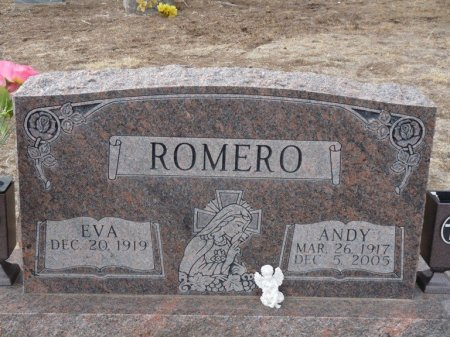 ROMERO, ANDY - Colfax County, New Mexico | ANDY ROMERO - New Mexico Gravestone Photos