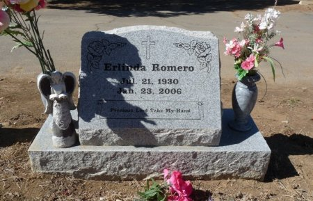 ROMERO, ERLINDA - Colfax County, New Mexico | ERLINDA ROMERO - New Mexico Gravestone Photos