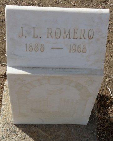 ROMERO, JOSE L - Colfax County, New Mexico | JOSE L ROMERO - New Mexico Gravestone Photos