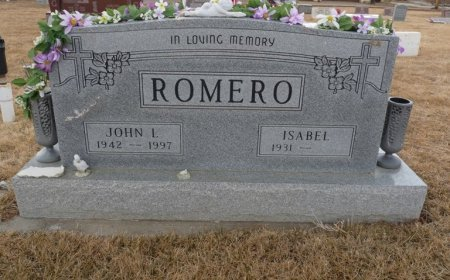 ROMERO, ISABEL - Colfax County, New Mexico | ISABEL ROMERO - New Mexico Gravestone Photos