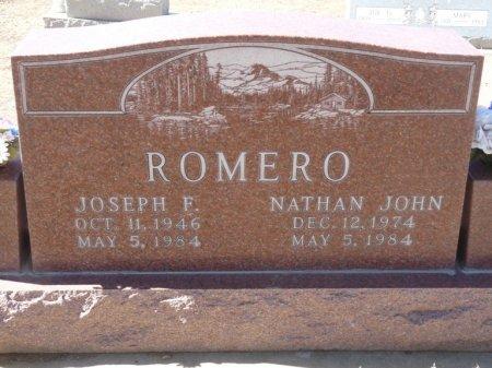 ROMERO, JOSEPH F - Colfax County, New Mexico | JOSEPH F ROMERO - New Mexico Gravestone Photos