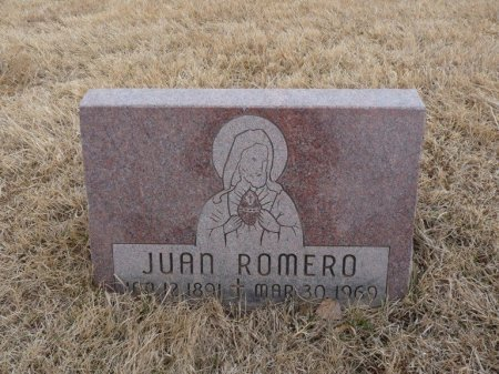 ROMERO, JUAN - Colfax County, New Mexico | JUAN ROMERO - New Mexico Gravestone Photos