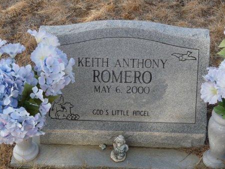 ROMERO, KEITH ANTHONY - Colfax County, New Mexico | KEITH ANTHONY ROMERO - New Mexico Gravestone Photos