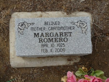 ROMERO, MARGARET - Colfax County, New Mexico | MARGARET ROMERO - New Mexico Gravestone Photos
