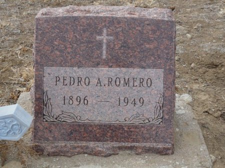 ROMERO, PEDRO A - Colfax County, New Mexico | PEDRO A ROMERO - New Mexico Gravestone Photos