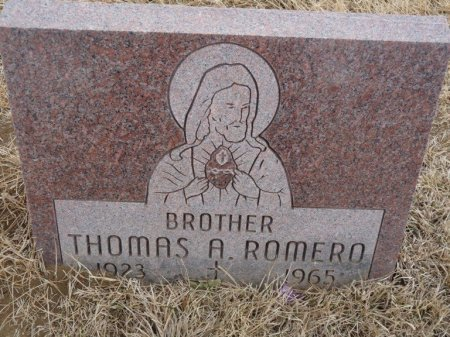 ROMERO, THOMAS A - Colfax County, New Mexico | THOMAS A ROMERO - New Mexico Gravestone Photos