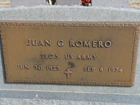 ROMERO (VETERAN), JUAN GABRIEL (NEW) - Colfax County, New Mexico | JUAN GABRIEL (NEW) ROMERO (VETERAN) - New Mexico Gravestone Photos