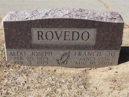 ROVEDO, ALDO JOSEPH - Colfax County, New Mexico   ALDO JOSEPH ROVEDO - New Mexico Gravestone Photos