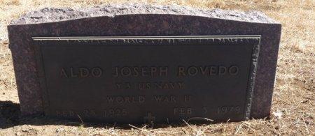 ROVEDO (VETERAN WWII), ALDO JOSEPH (NEW) - Colfax County, New Mexico | ALDO JOSEPH (NEW) ROVEDO (VETERAN WWII) - New Mexico Gravestone Photos