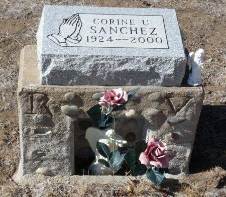 SANCHEZ, CORINE U - Colfax County, New Mexico | CORINE U SANCHEZ - New Mexico Gravestone Photos