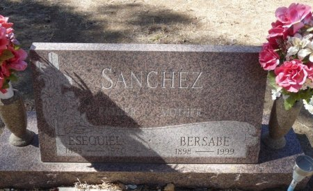 SANCHEZ, BERSABE - Colfax County, New Mexico | BERSABE SANCHEZ - New Mexico Gravestone Photos