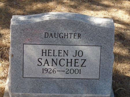 SANCHEZ, HELEN JO - Colfax County, New Mexico | HELEN JO SANCHEZ - New Mexico Gravestone Photos