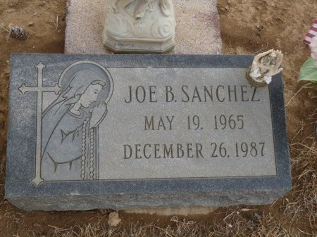 SANCHEZ, JOE B - Colfax County, New Mexico | JOE B SANCHEZ - New Mexico Gravestone Photos