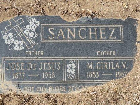SANCHEZ, M CIRILA V - Colfax County, New Mexico | M CIRILA V SANCHEZ - New Mexico Gravestone Photos