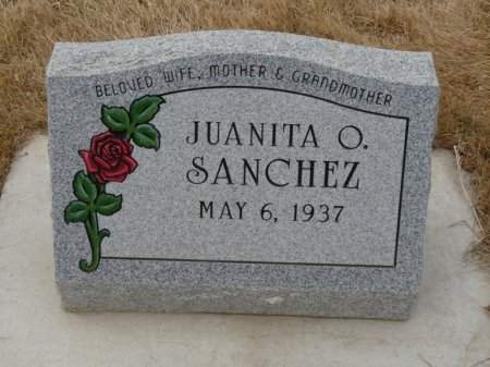 SANCHEZ, JUANITA O - Colfax County, New Mexico | JUANITA O SANCHEZ - New Mexico Gravestone Photos