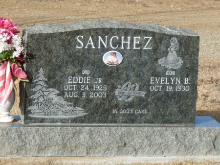 SANCHEZ, EVELYN B - Colfax County, New Mexico | EVELYN B SANCHEZ - New Mexico Gravestone Photos