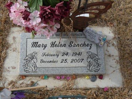 SANCHEZ, MARY HELEN - Colfax County, New Mexico | MARY HELEN SANCHEZ - New Mexico Gravestone Photos