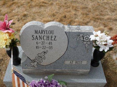 SANCHEZ, MARY LOU - Colfax County, New Mexico | MARY LOU SANCHEZ - New Mexico Gravestone Photos