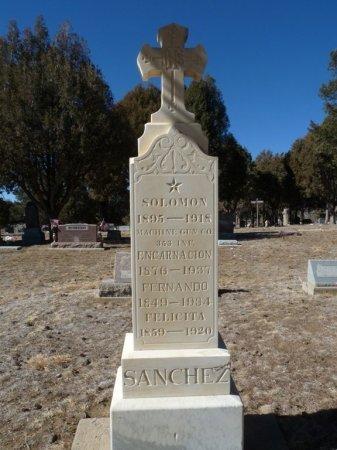 SANCHEZ, SOLOMON - Colfax County, New Mexico | SOLOMON SANCHEZ - New Mexico Gravestone Photos