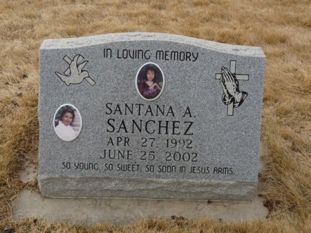 SANCHEZ, SANTANA A - Colfax County, New Mexico | SANTANA A SANCHEZ - New Mexico Gravestone Photos
