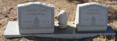 SANDOVAL, BARBARA - Colfax County, New Mexico   BARBARA SANDOVAL - New Mexico Gravestone Photos