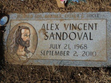 SANDOVAL, ALEX VINCENT - Colfax County, New Mexico   ALEX VINCENT SANDOVAL - New Mexico Gravestone Photos