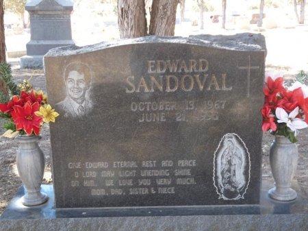 SANDOVAL, EDWARD - Colfax County, New Mexico | EDWARD SANDOVAL - New Mexico Gravestone Photos