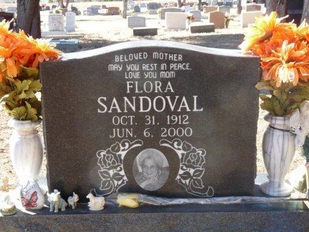 SANDOVAL, FLORA - Colfax County, New Mexico | FLORA SANDOVAL - New Mexico Gravestone Photos
