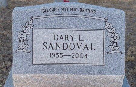 SANDOVAL, GARY L - Colfax County, New Mexico | GARY L SANDOVAL - New Mexico Gravestone Photos