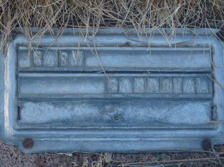 SANDOVAL, INFANT - Colfax County, New Mexico | INFANT SANDOVAL - New Mexico Gravestone Photos