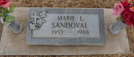 SANDOVAL, MARIE L - Colfax County, New Mexico   MARIE L SANDOVAL - New Mexico Gravestone Photos