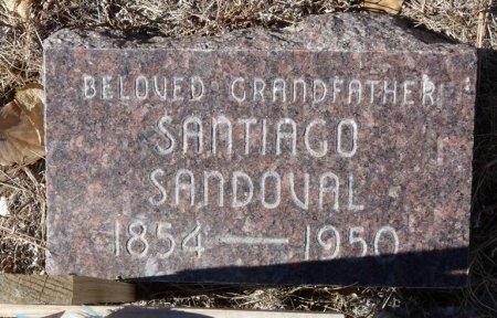 SANDOVAL, SANTIAGO - Colfax County, New Mexico | SANTIAGO SANDOVAL - New Mexico Gravestone Photos