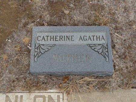 SCANLON, CATHERINE AGATHA - Colfax County, New Mexico   CATHERINE AGATHA SCANLON - New Mexico Gravestone Photos