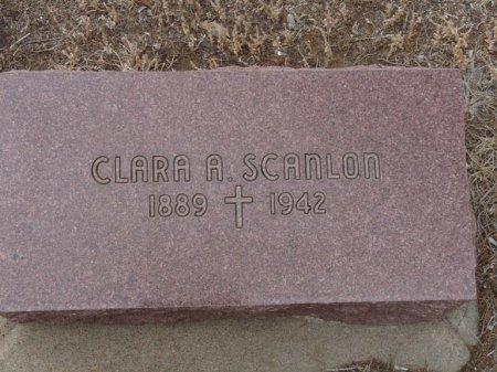 SCANLON, CLARA A - Colfax County, New Mexico   CLARA A SCANLON - New Mexico Gravestone Photos