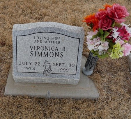 SIMMONS, VERONICA R - Colfax County, New Mexico | VERONICA R SIMMONS - New Mexico Gravestone Photos