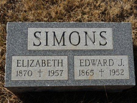 SIMONS, EDWARD JAMES - Colfax County, New Mexico | EDWARD JAMES SIMONS - New Mexico Gravestone Photos
