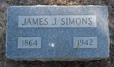 SIMONS, JAMES JOSEPH - Colfax County, New Mexico | JAMES JOSEPH SIMONS - New Mexico Gravestone Photos