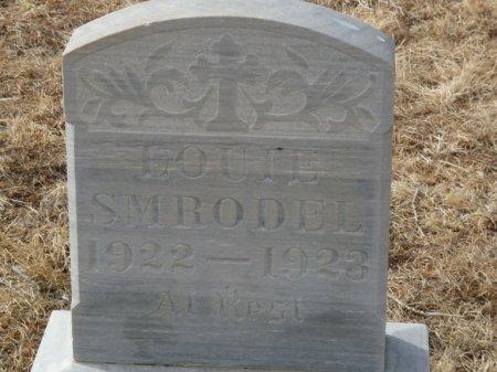 SMRODEL, LOUIE - Colfax County, New Mexico   LOUIE SMRODEL - New Mexico Gravestone Photos