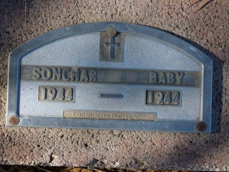 SONCHAR, INFANT - Colfax County, New Mexico | INFANT SONCHAR - New Mexico Gravestone Photos